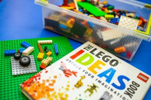 legos and lego book