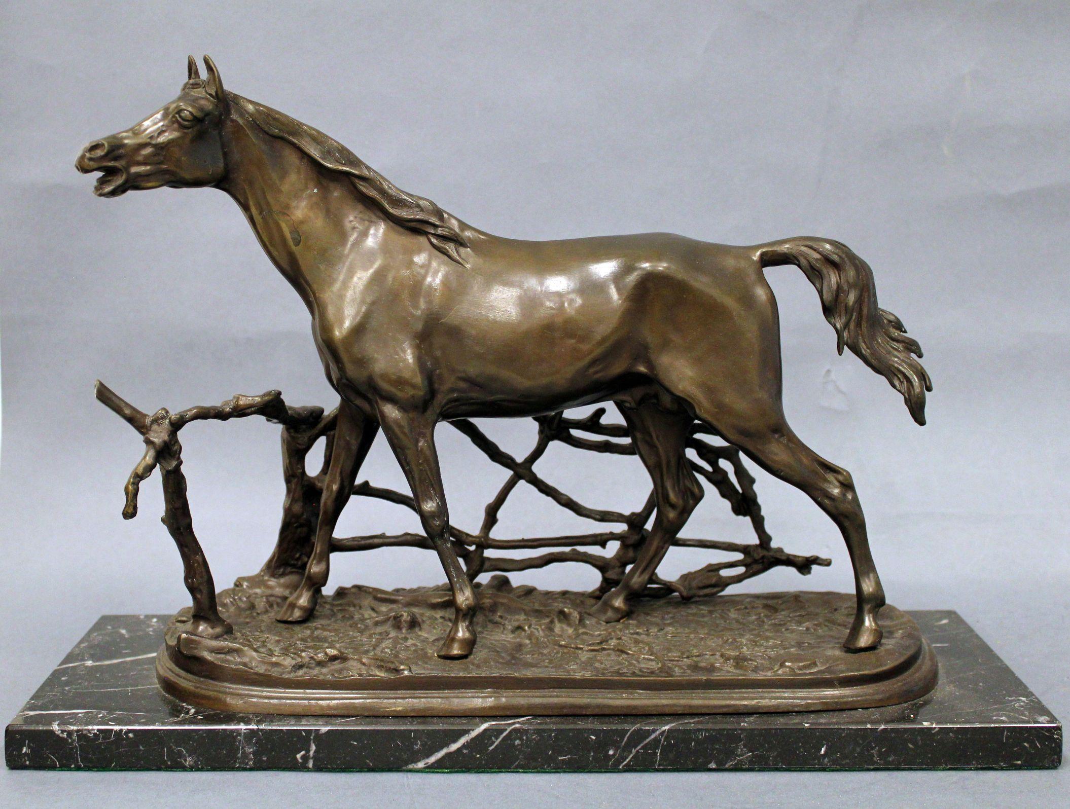 sculpture of a horse