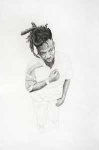 Pencil drawing by Yashua Klos
