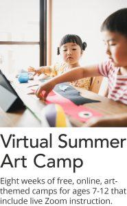 Click here for online summer art camp programs