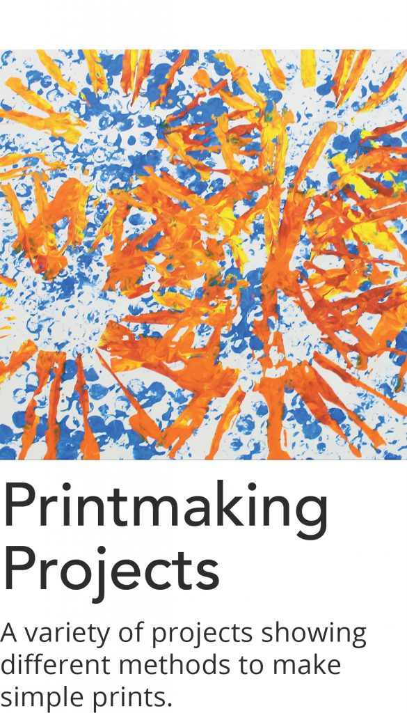 Click here for a list of Printmaking Project videos.